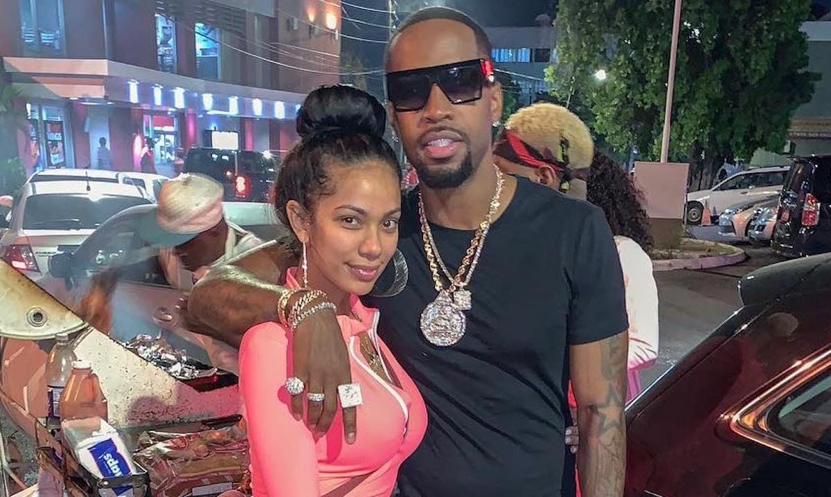 Safaree and Erica Mena in Jamaica