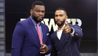 50 Cent and Omari Hardwick