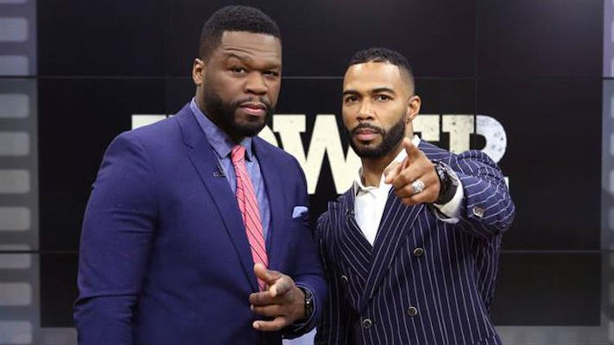 50 Cent and Omari Hardwick