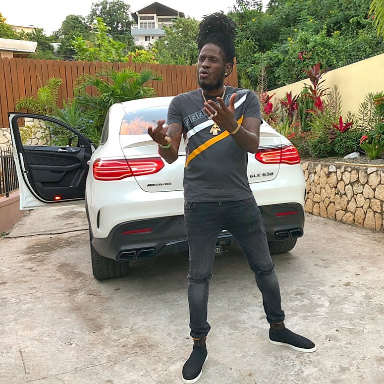 Aidonia Involved In Serious Car Crash, Benz SUV Totaled - Urban Islandz