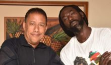 Buju Banton and Gary Griffith