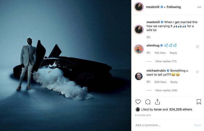 Meek Mill Deletes Instagram After Series Of Cryptic Messages - Urban Islandz
