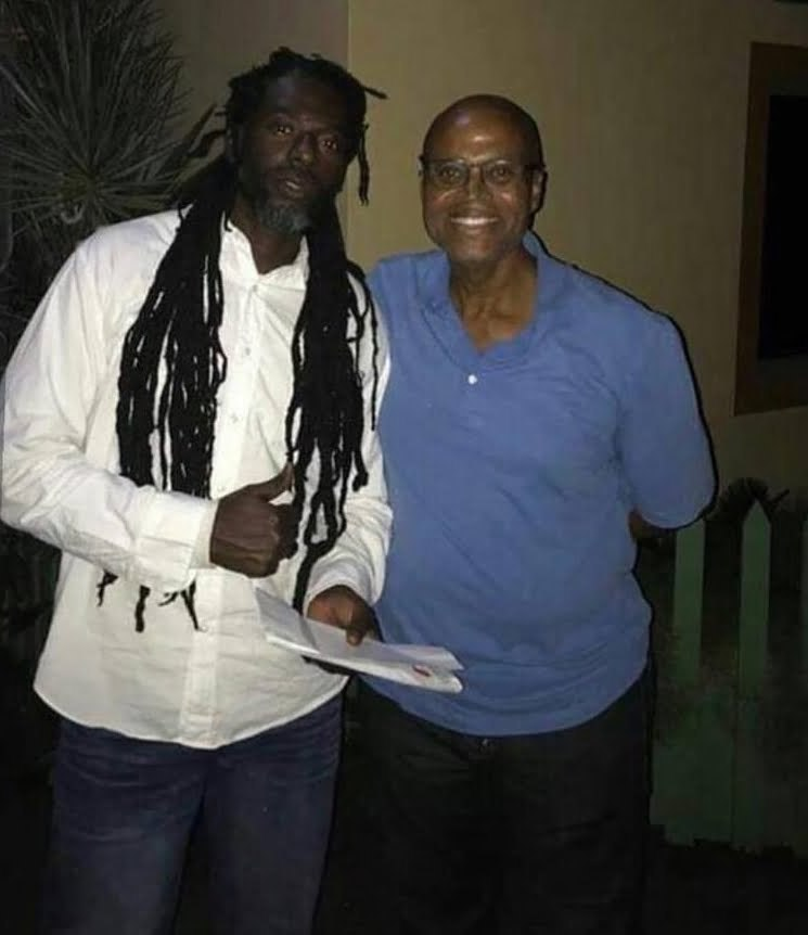 Buju Banton and Donovan Germain