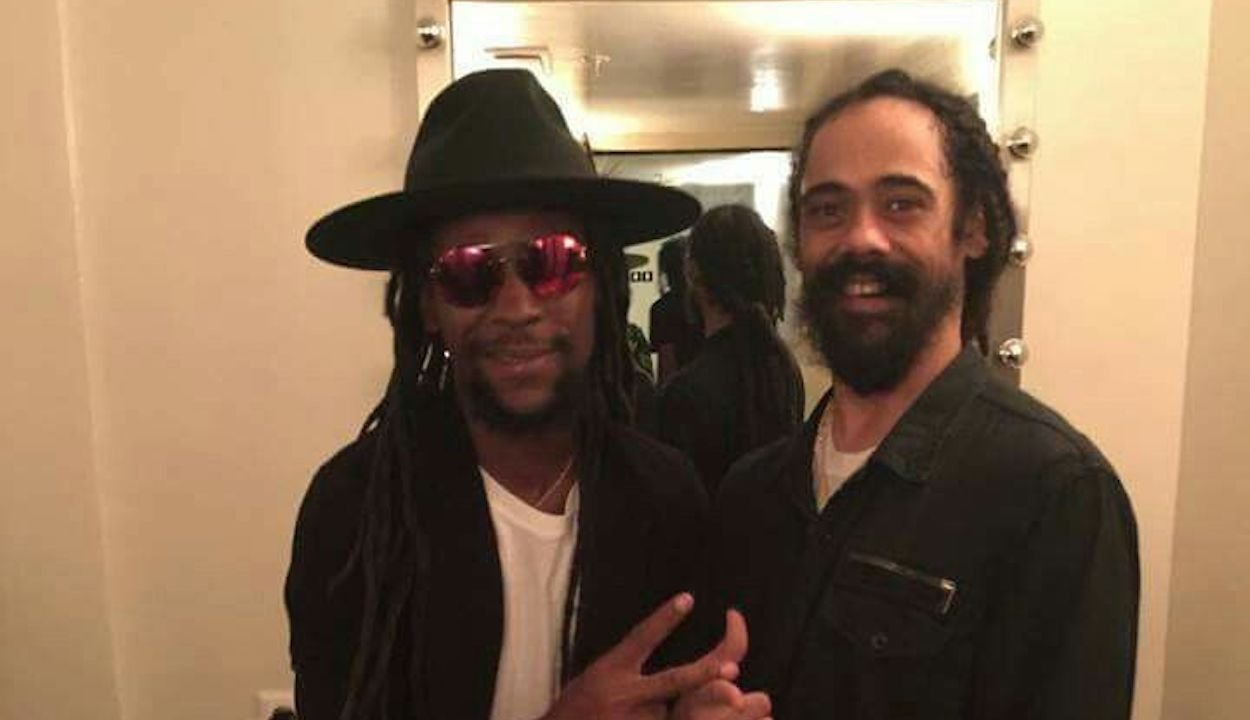 Jah Cure and Damian Jr Gong Marley