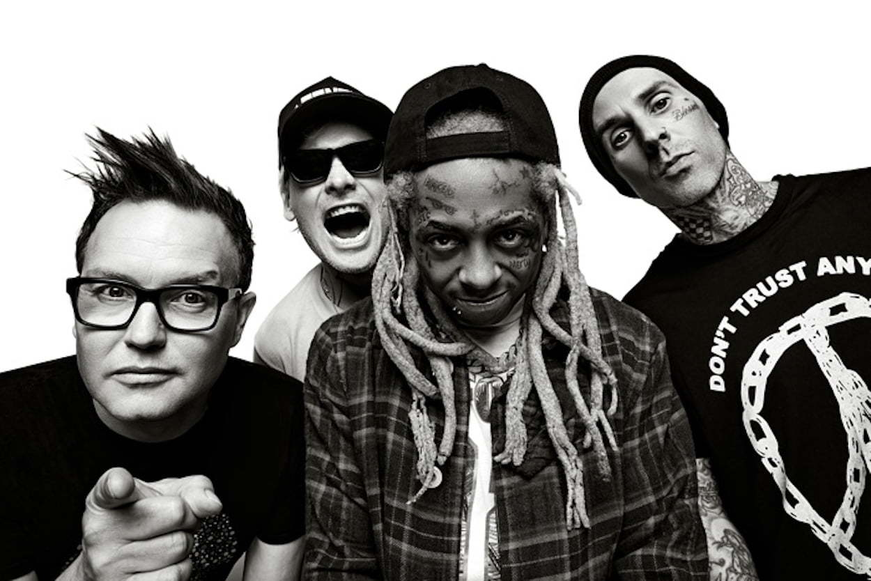 Lil Wayne and Blink-182 tour