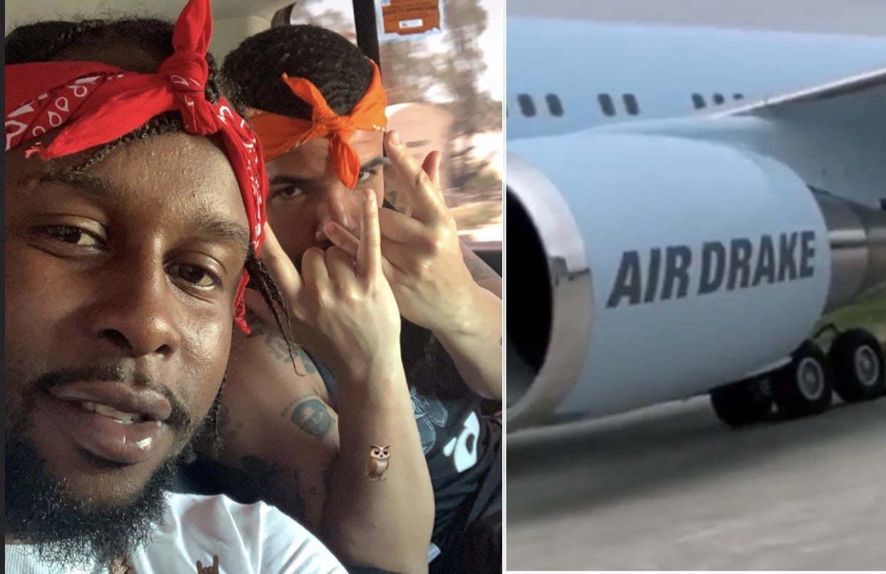 Popcaan Drake jet