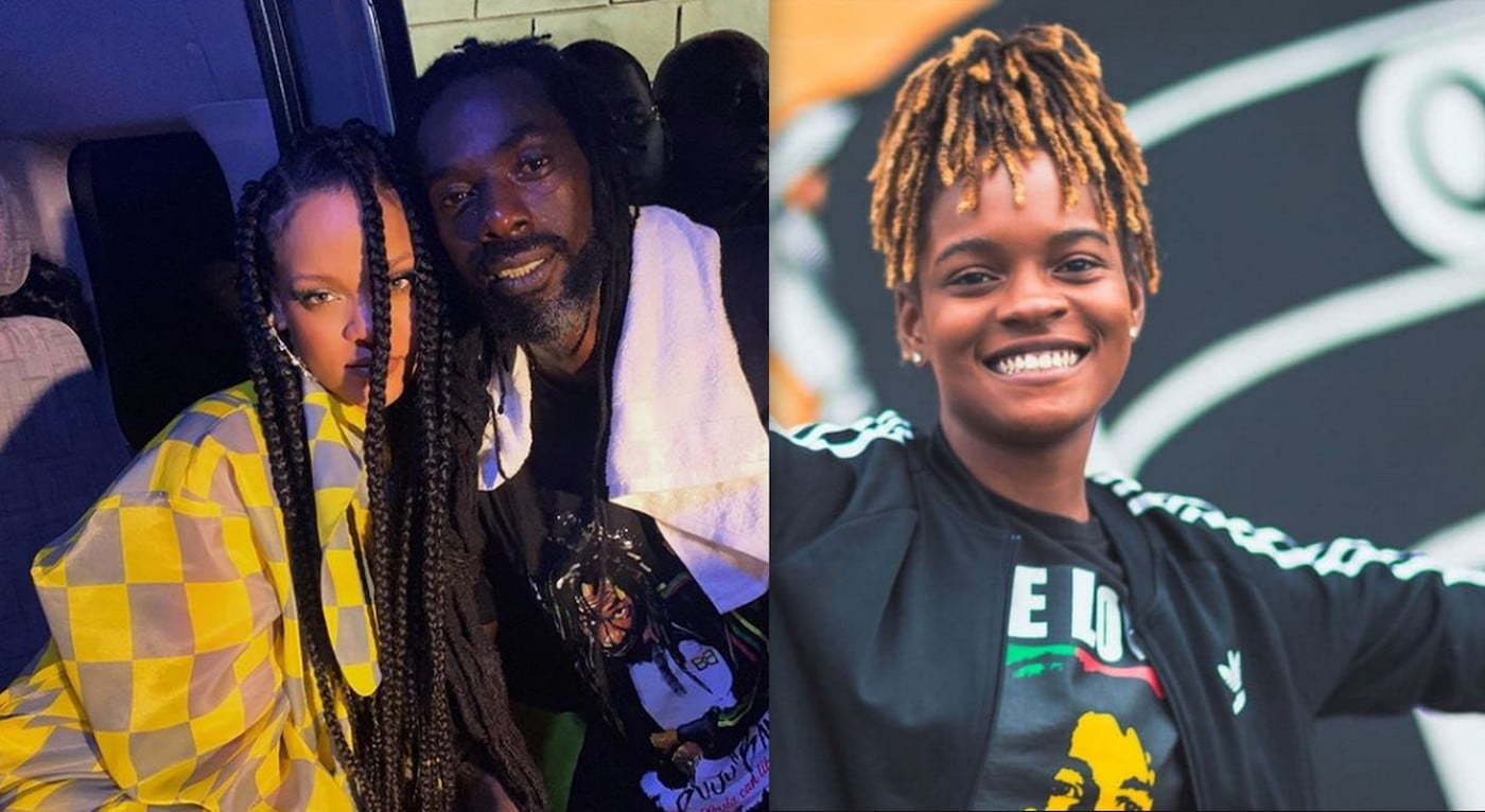 Rihanna Buju Banton and Koffee