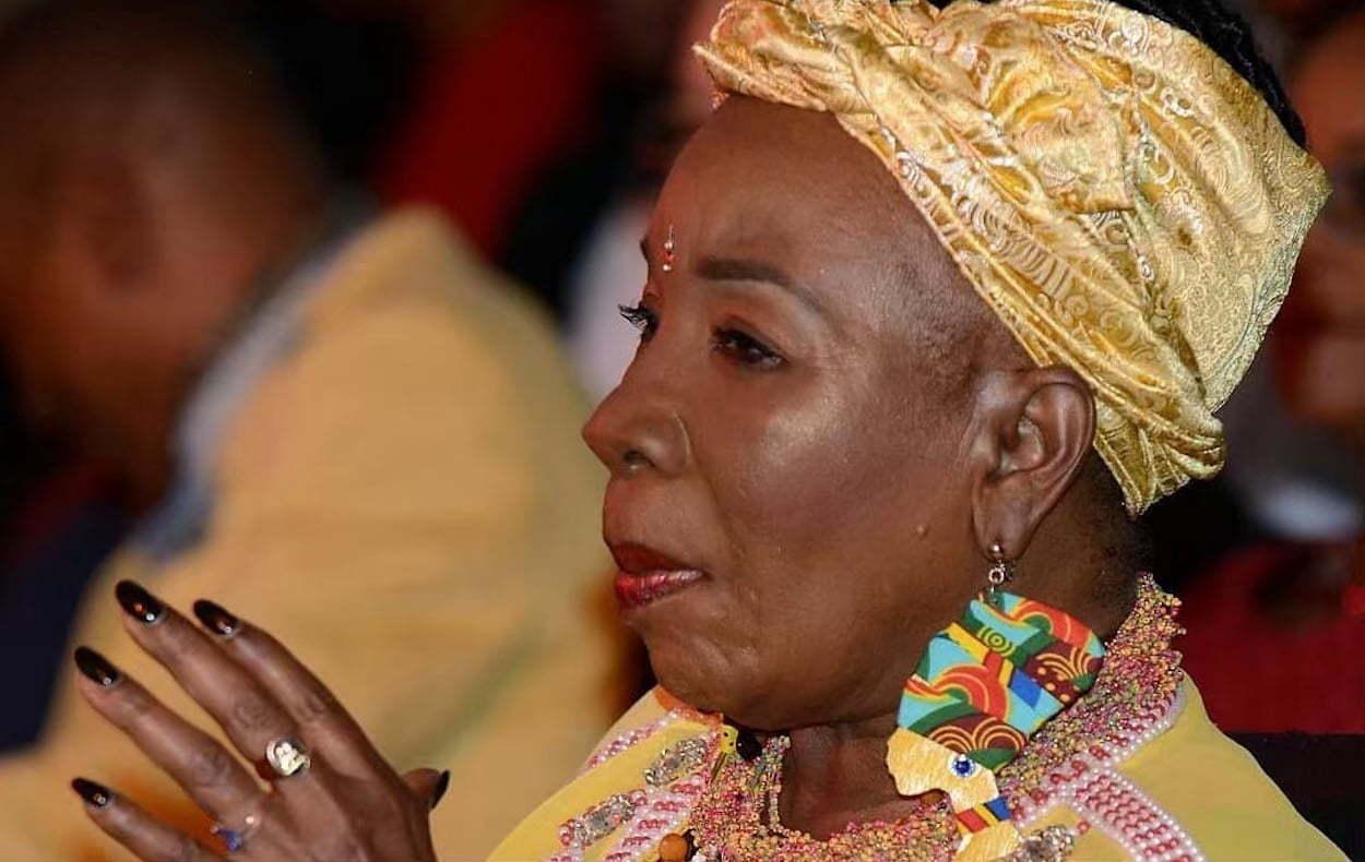 Bob Marley Widow Rita Marley Grooves To Beenie Man Music At Irawma Urban Islandz