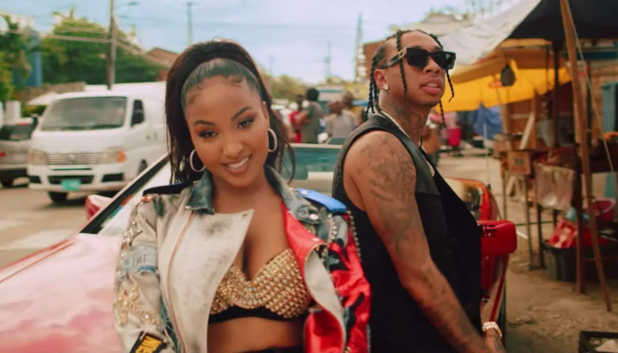 Shenseea and Tyga Blessed