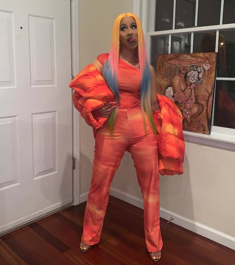 Cardi B arraigned, pleads Not Guilty to Felony Assault Charges
