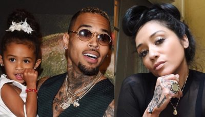 Chris Brown Nia Guzman and Royalty