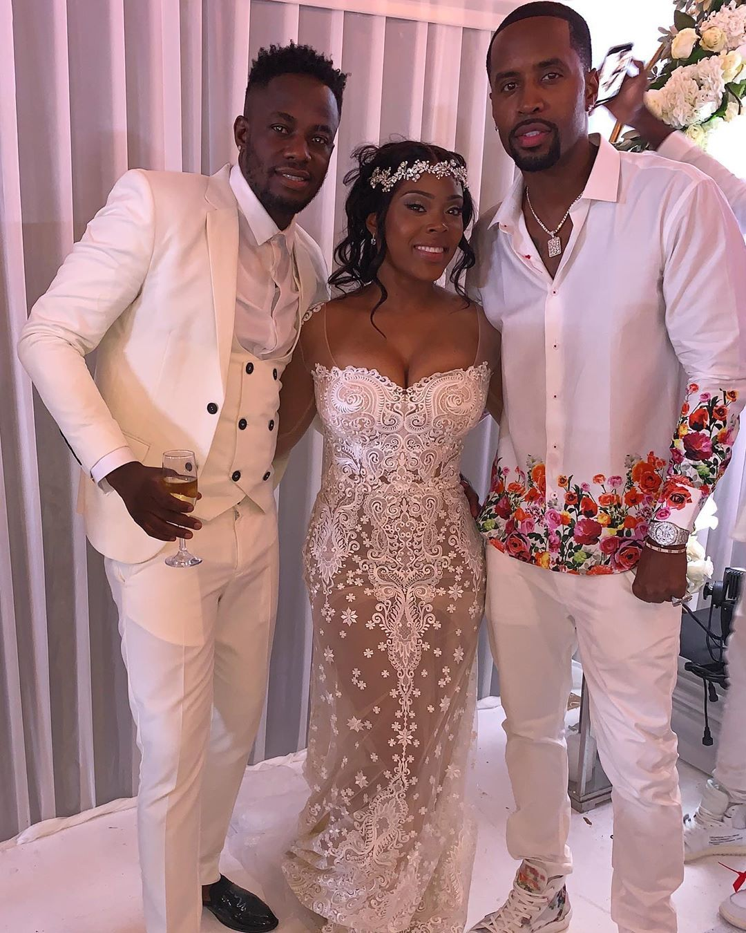 Safaree Ding Dong and Tashauna wedding