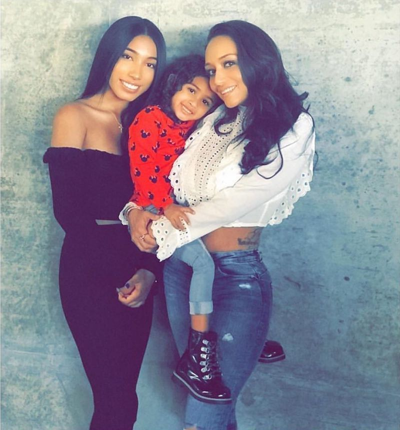 Chris Brown's Baby Mama Nia Guzman Gave Birth To New Baby Girl - Urban Islandz