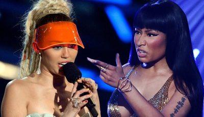 Nicki Minaj and Miley Cyrus beef