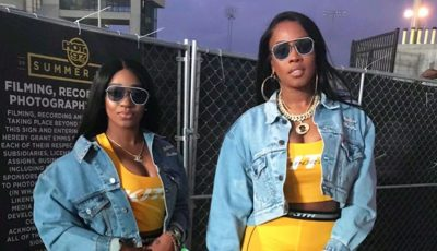 Remy Ma and step-daughter