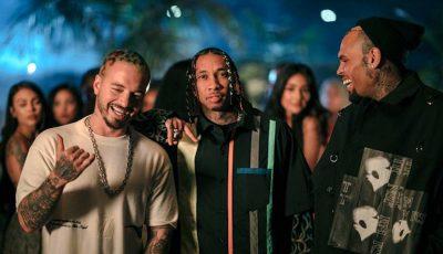 J Balvin Tyga and Chris Brown