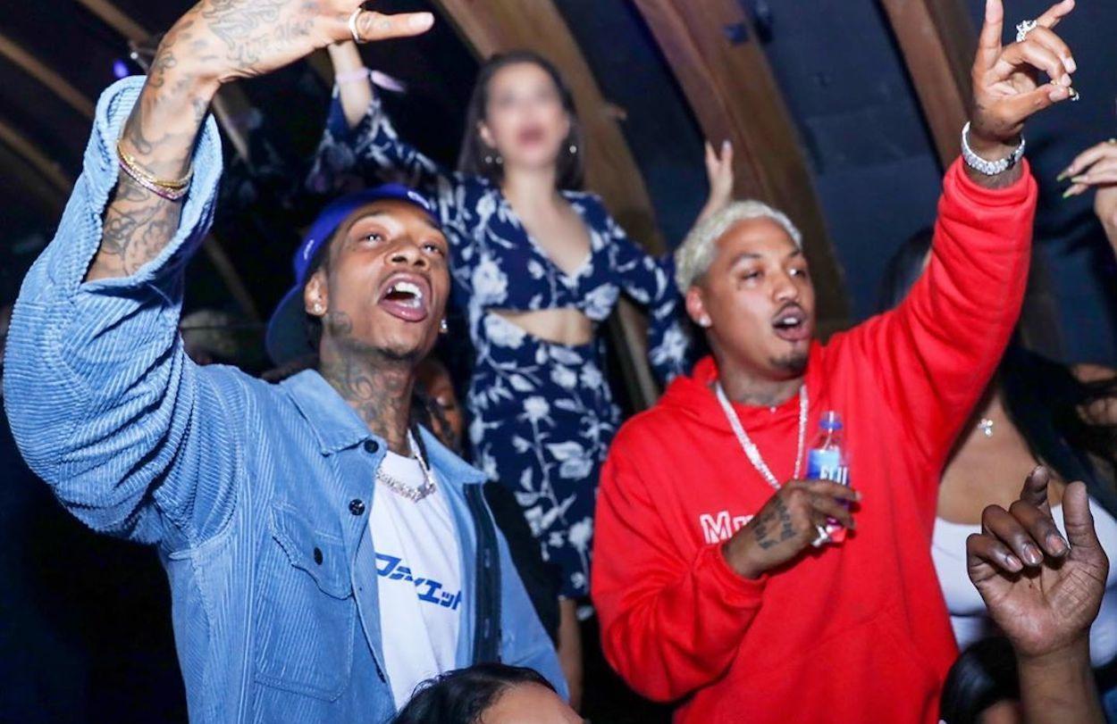 Wiz Khalifa and Alexander Edwards