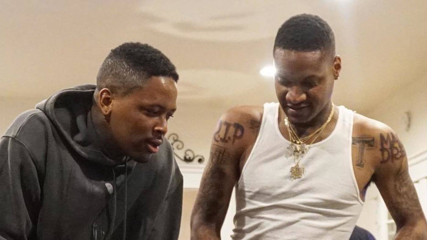 YG and Slim 400 photo