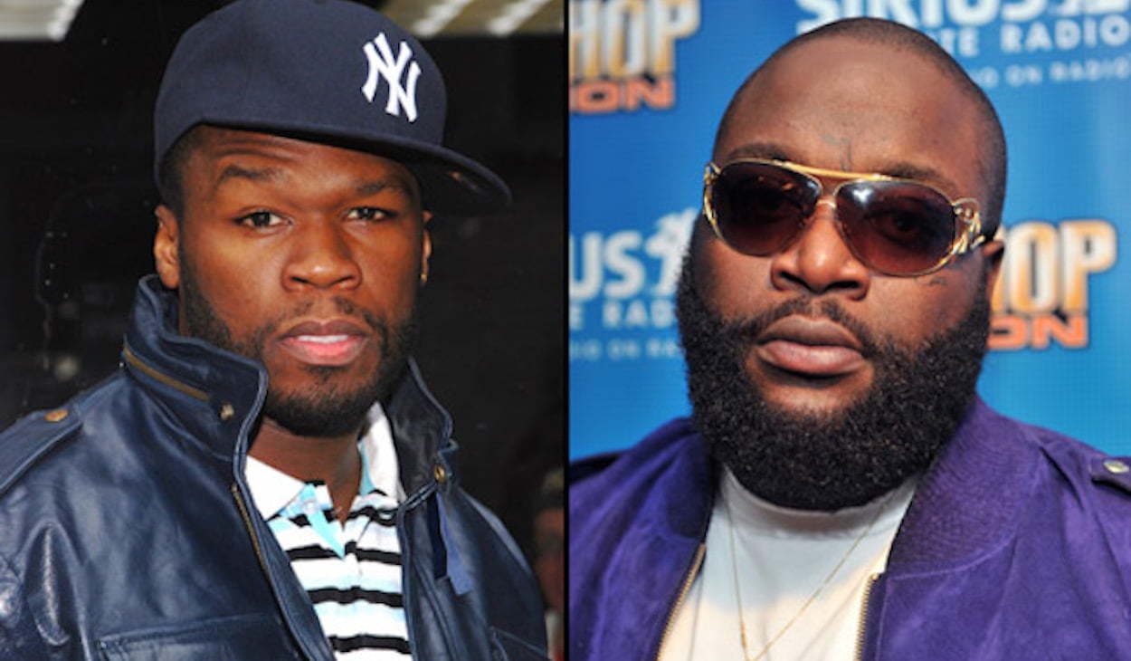 50 Cent and Rick Ross