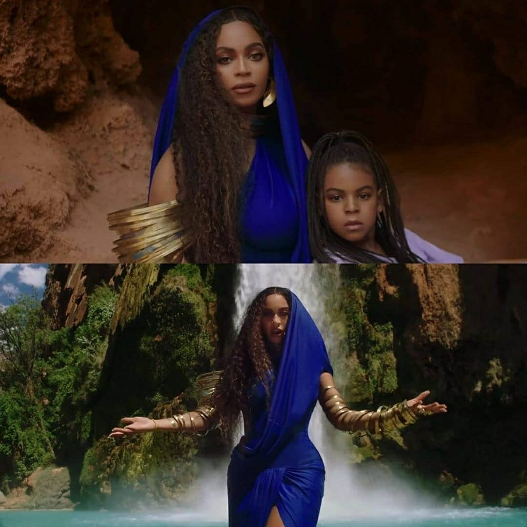 Beyonce, Blue Ivy & WizKid New Song