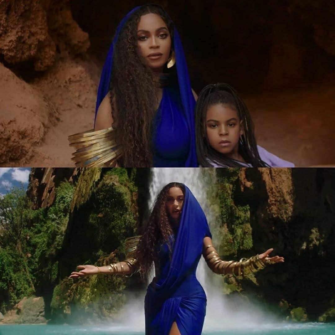 "Beyonce, Blue Ivy & WizKid New Song ""Brown Skin Girl ..."