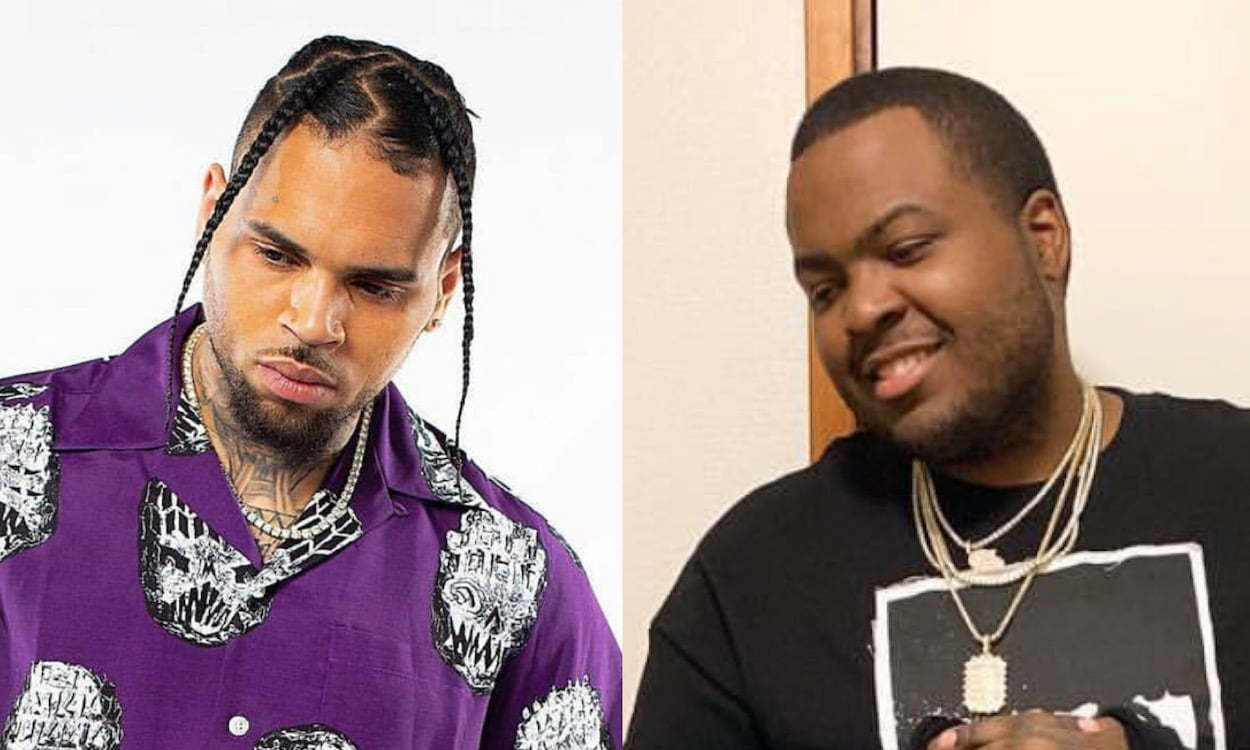 Chris Brown and Sean Kingston