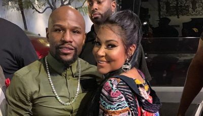 Floyd Mayweather and Lyrica Anderson