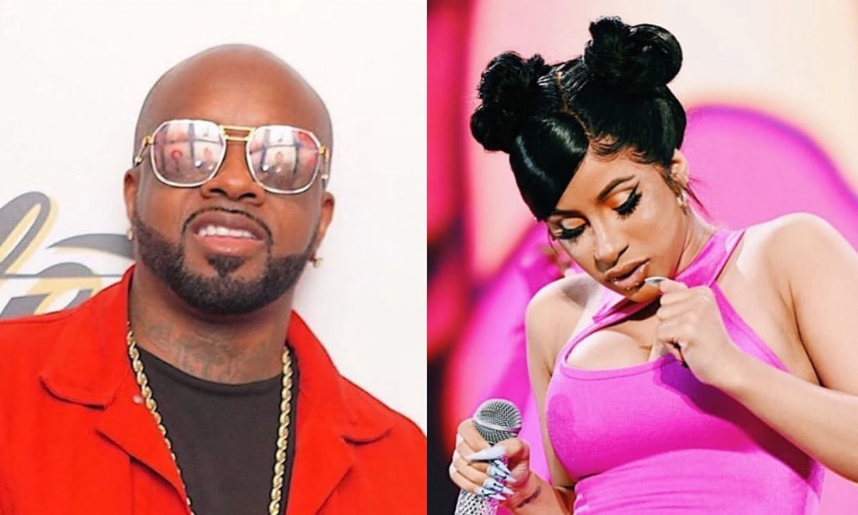 Cardi B on Jermaine Dupri Calling Female Rappers ''Strippers Rapping''