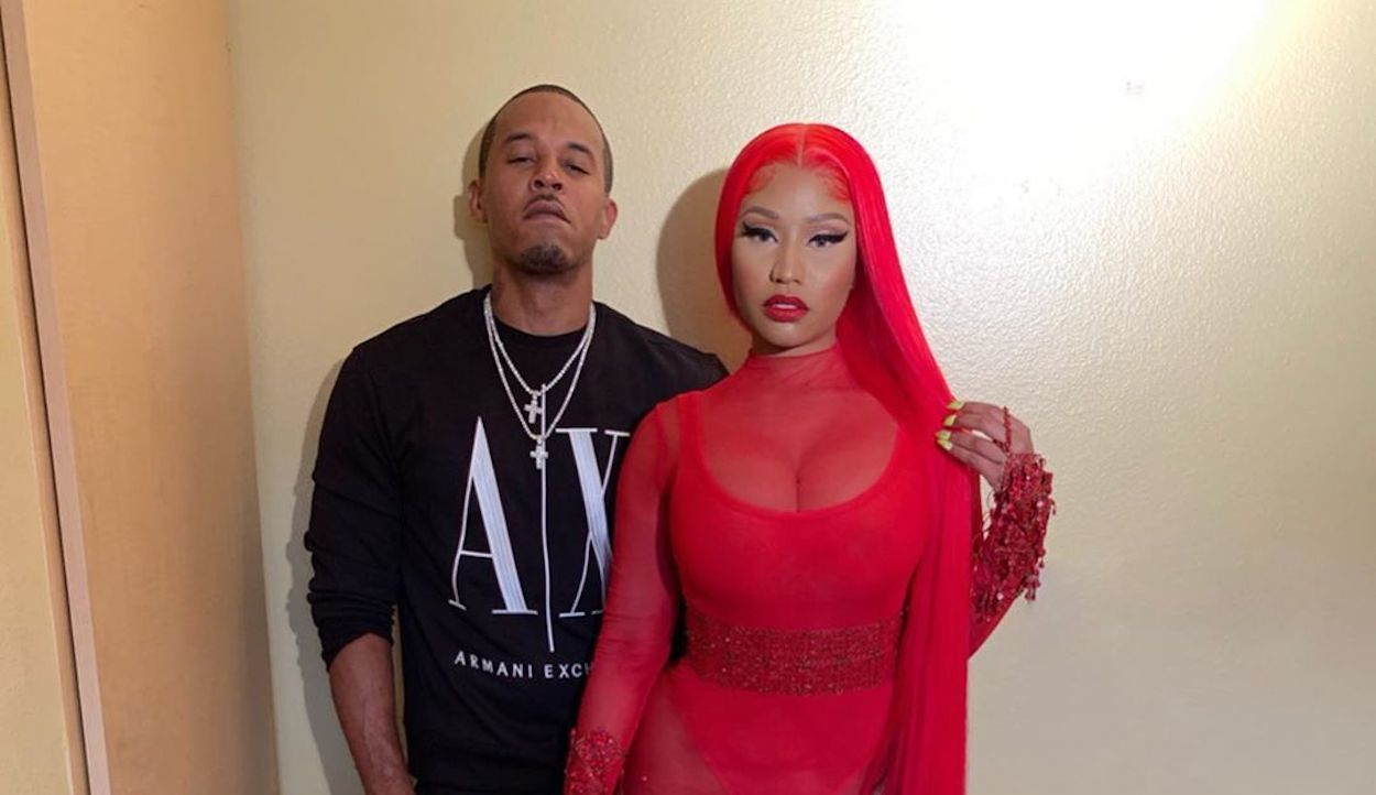 Nicki Minaj and Kenneth Petty pic