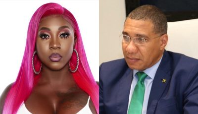 Spice and PM Andrew Holness