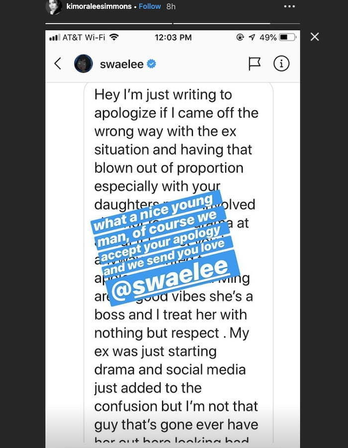 Swae Lee Apologize To Kimora Lee Simmons For IG Beef With His Ex-GF