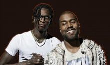 Young Thug and Kanye West