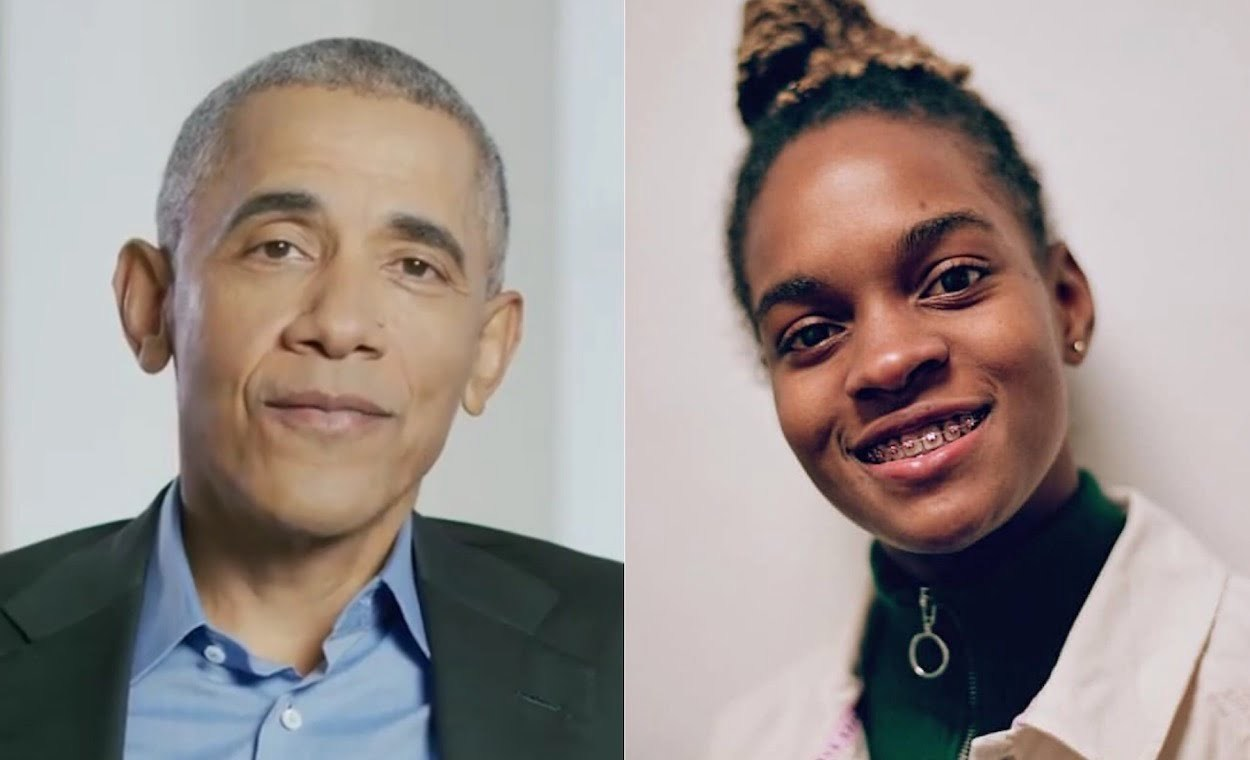 President Obama and Koffee