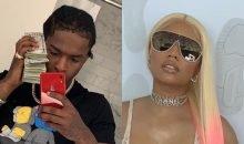 Pop Smoke and Nicki Minaj