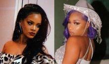 Rihanna and Megan Thee Stallion