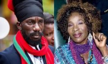 Sizzla and Rita Marley