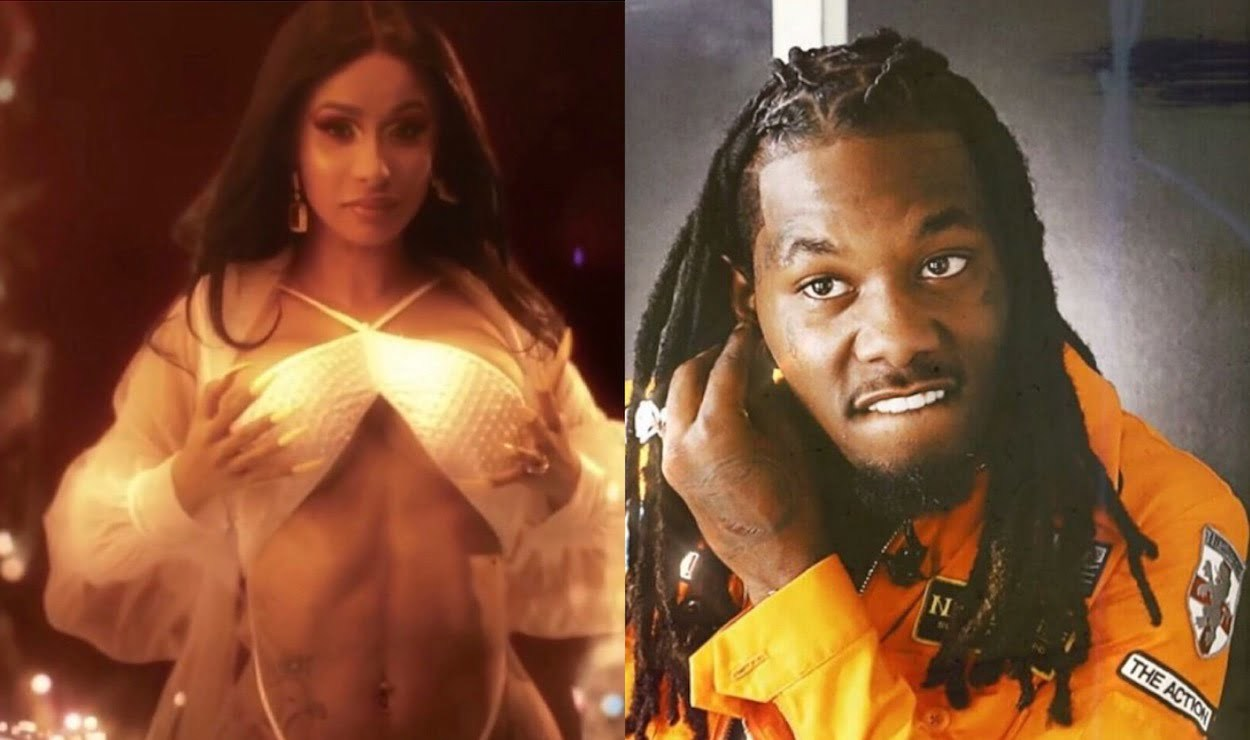 Offset Got Cardi B S Name Tattooed On His Neck: Offset Drools Over How Stunning Cardi B Looks In This