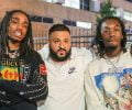DJ Khaled Gave Offset Two Customized Jordan Sneakers Worth $30K, That's Baller