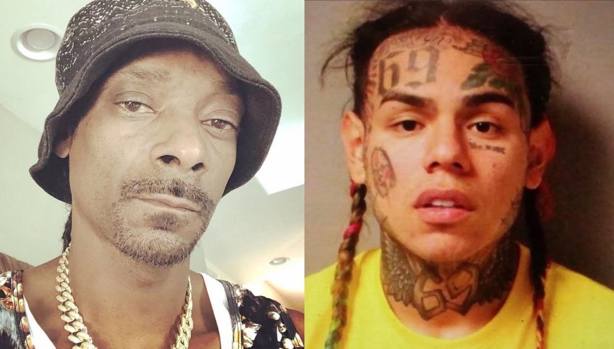 Snoop Dogg Ruffles Tekashi 6ix9ine Feathers As Hip Hop