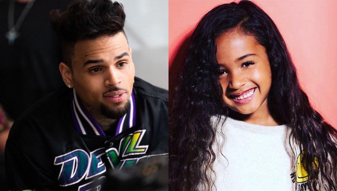 Chris Brown Is His Daughter Royalty's Biggest Cheerleader ...