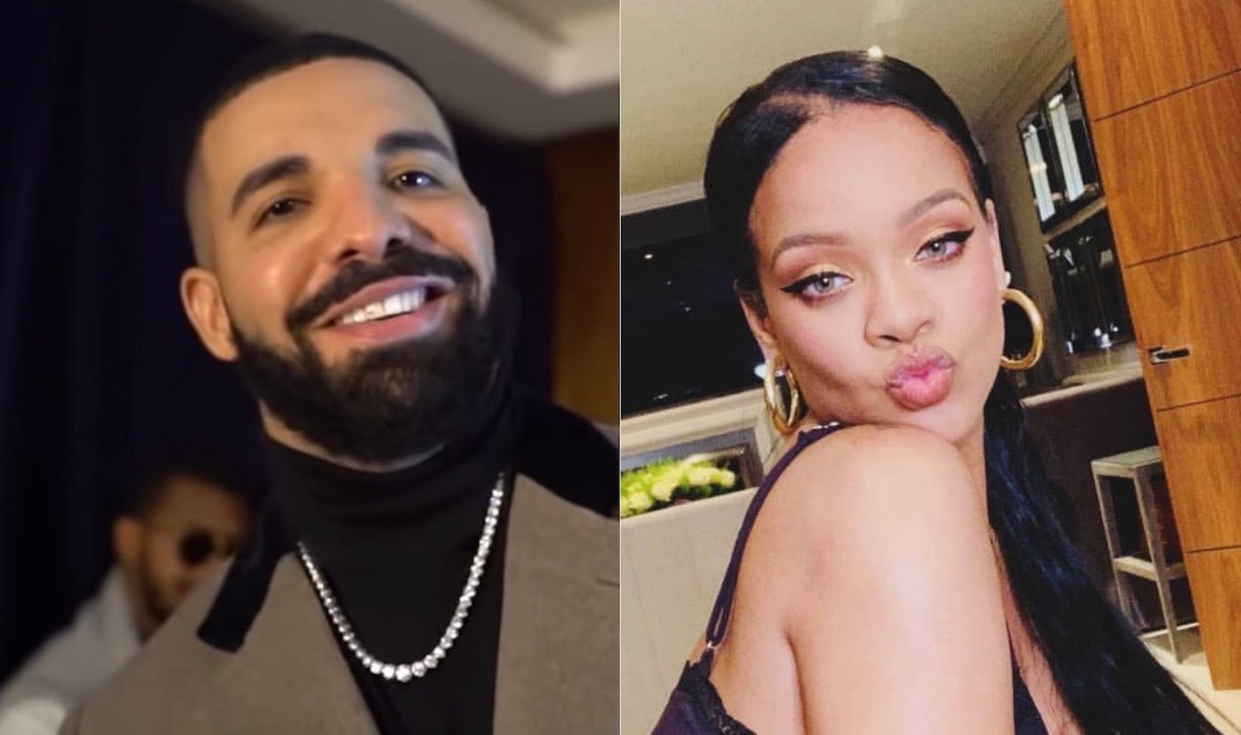 Drake Reunites with Rihanna at Birthday Party