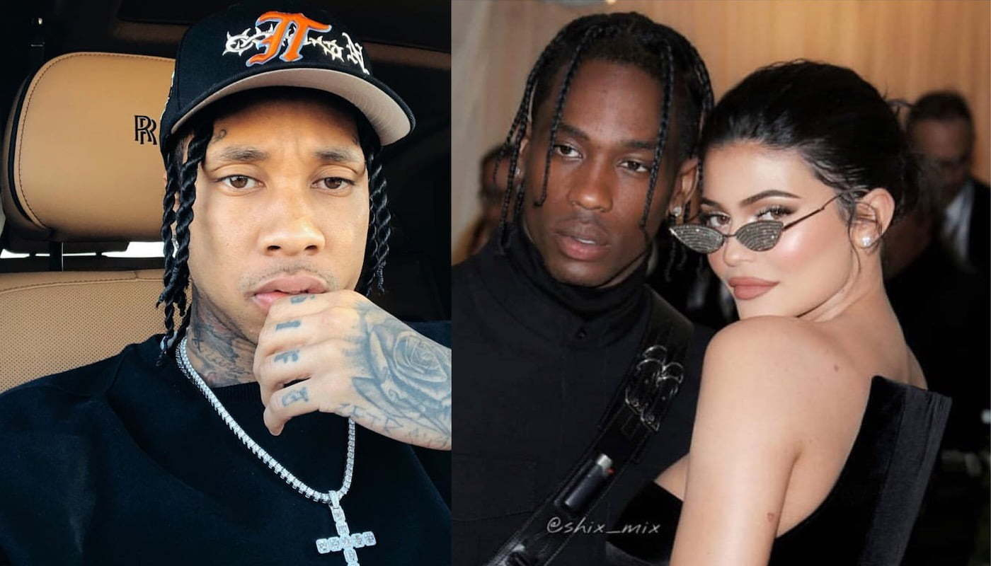 Travis Scott addresses rumours that he cheated on Kylie Jenner