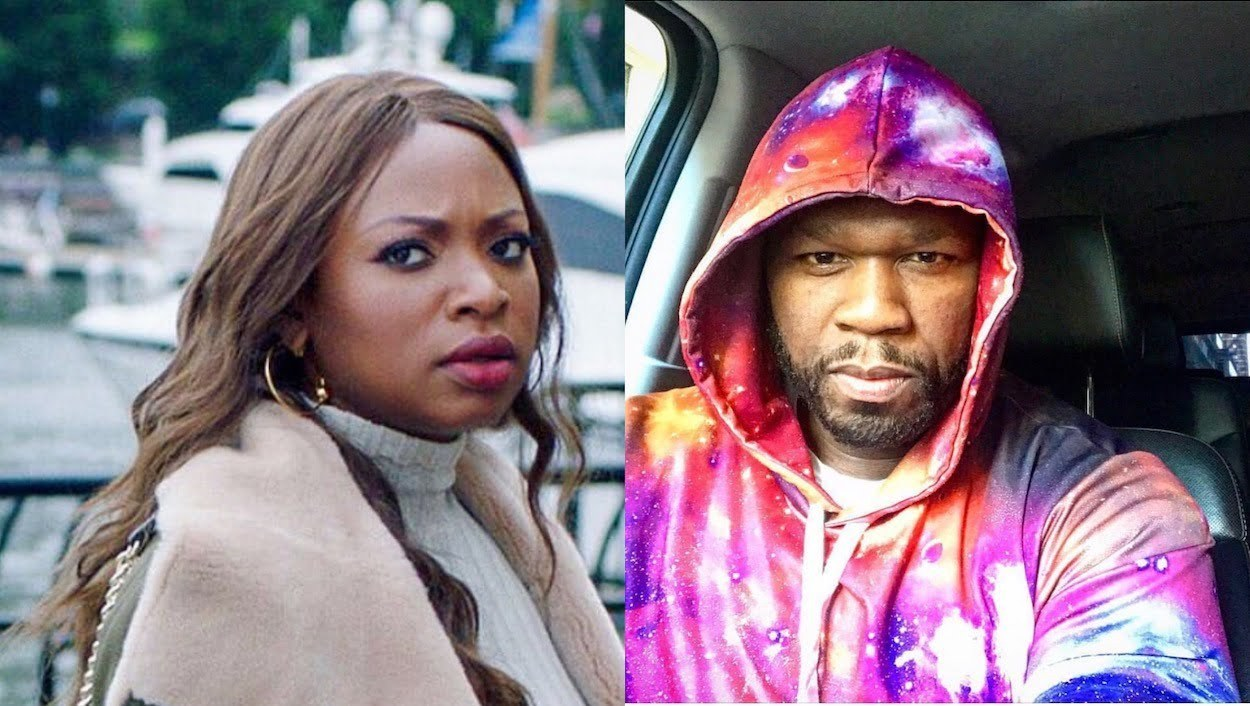 Cent slammed for trolling Power co-star Naturi Naughton's hairline