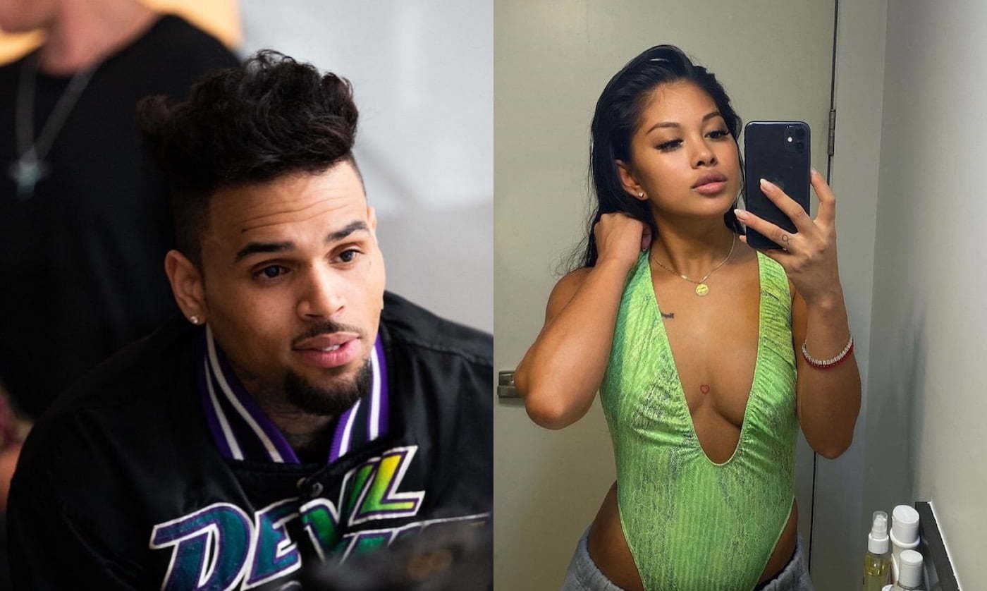 "Ammika Harris Tells Chris Brown ""I LOVE YOU"" After He Shared This Sweet Message On IG - Urban Islandz"