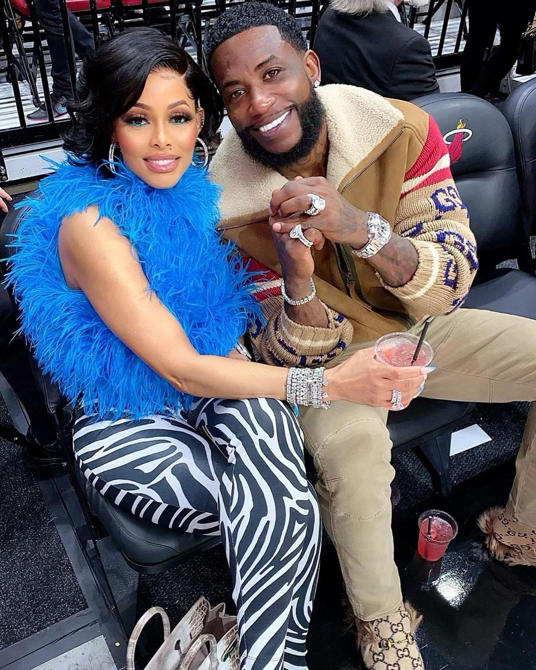 Gucci Mane Celebrates Thick Girls As His Jamaican Wife Keyshia Flaunts Booty On Ig Urban Islandz Big booty in yellow panties. his jamaican wife keyshia flaunts booty