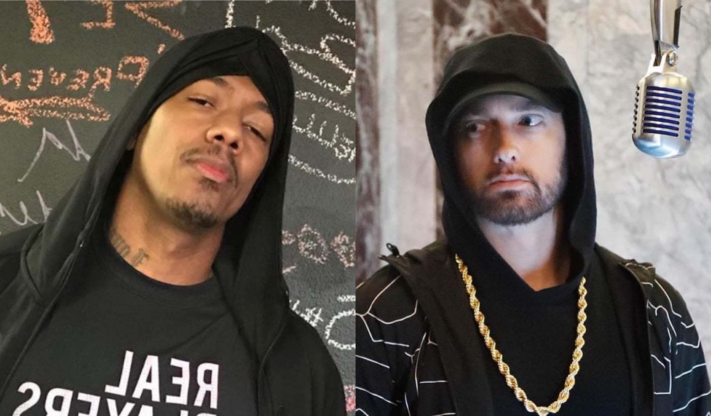 Nick Cannon challenges Eminem to go head to head in a battle