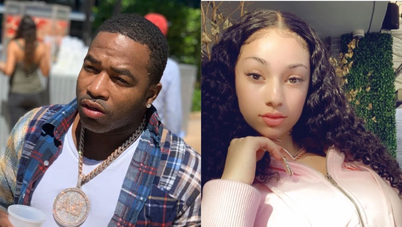 Adrien Broner blasted for flirting with 16-year-old rapper Bhad Bhabie