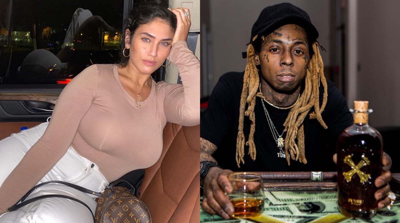 Lil Wayne Engaged To Model La'tecia Thomas: Reports ... Lil Wayne Wife 2019