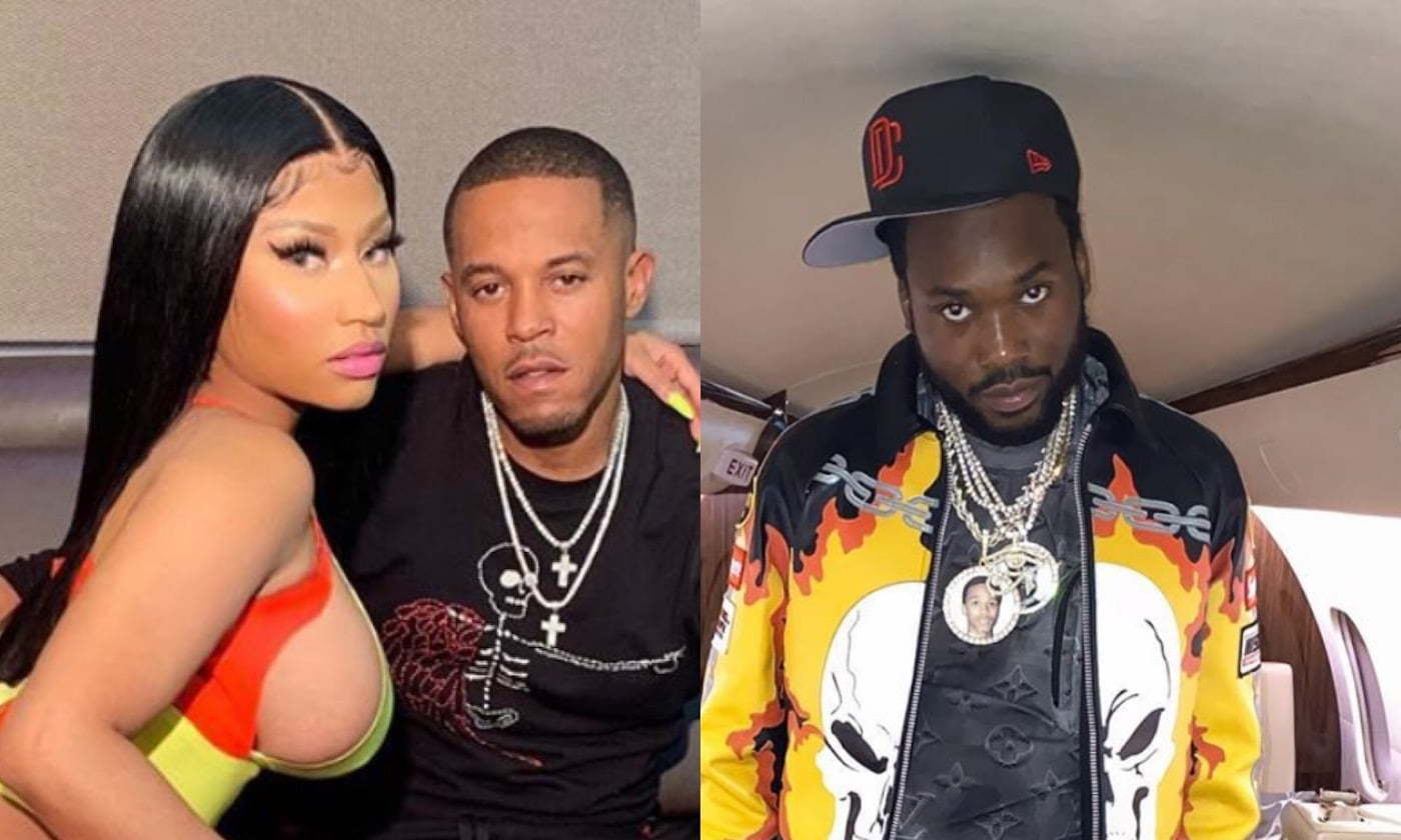 Meek Mill enters shouting with ex Nicki Minaj's husband