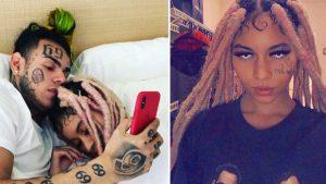 6ix9ine In Bed With Trippie Redds Ex Girl!! | BEEF UPDATE